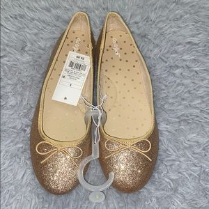 Cat and jack size 5 ballet flats